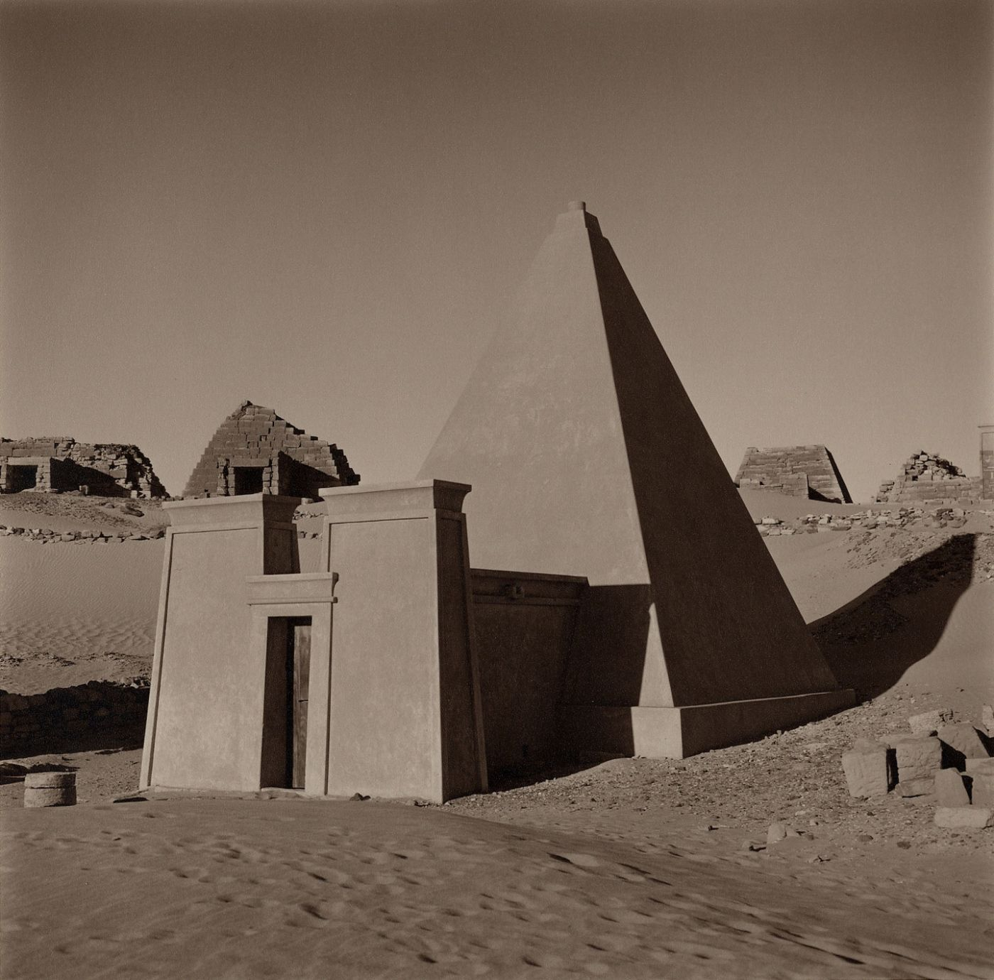 Lynn Davis: Monument, Limited Edition (with Toned Gelatin Silver Print)