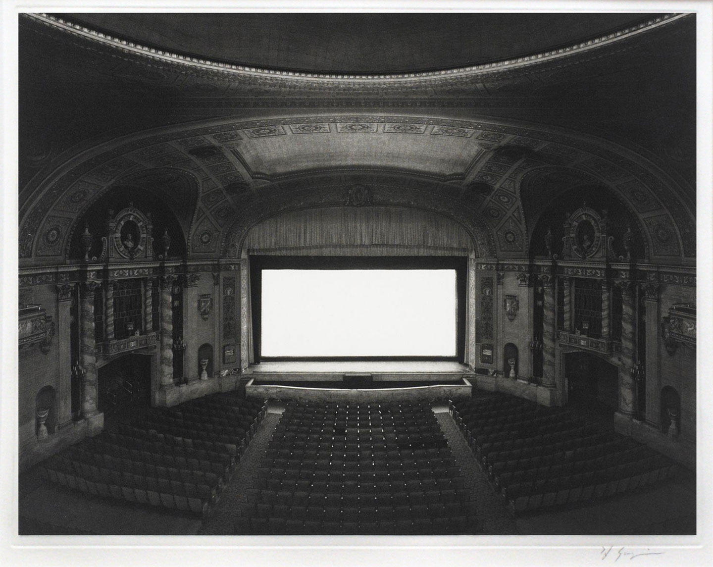 Hiroshi Sugimoto: Theaters, Limited Edition (with Photogravure Print)