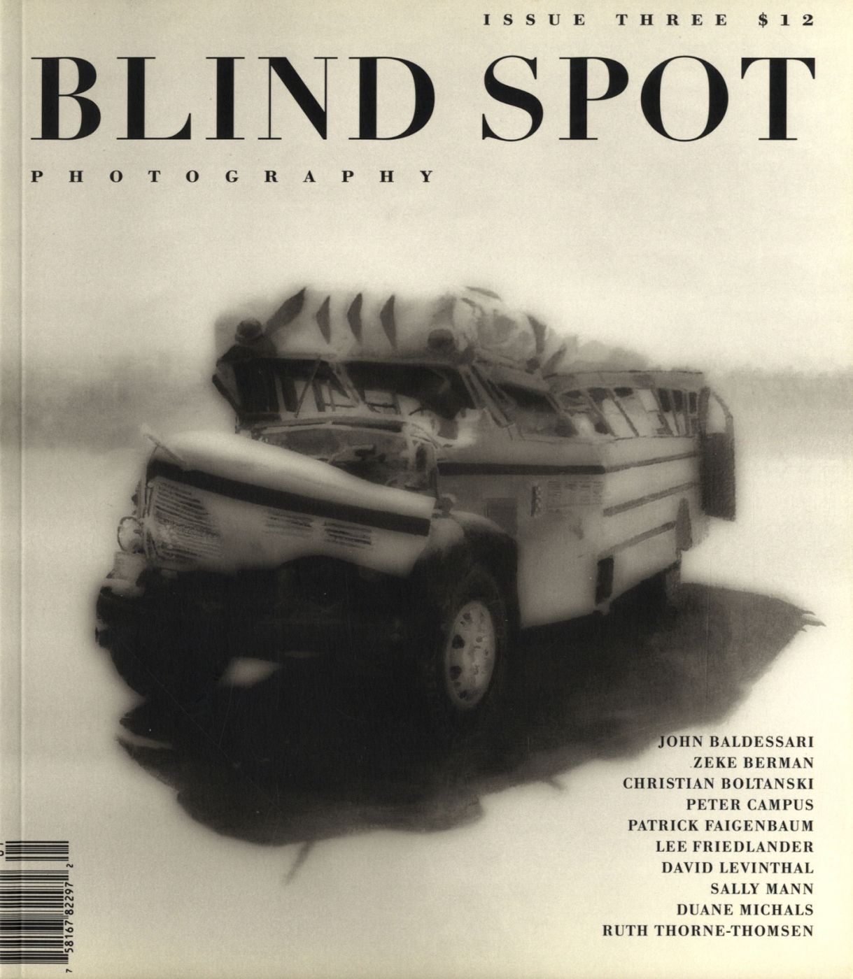 Blind Spot #3 (Photography Journal, Issue Three)