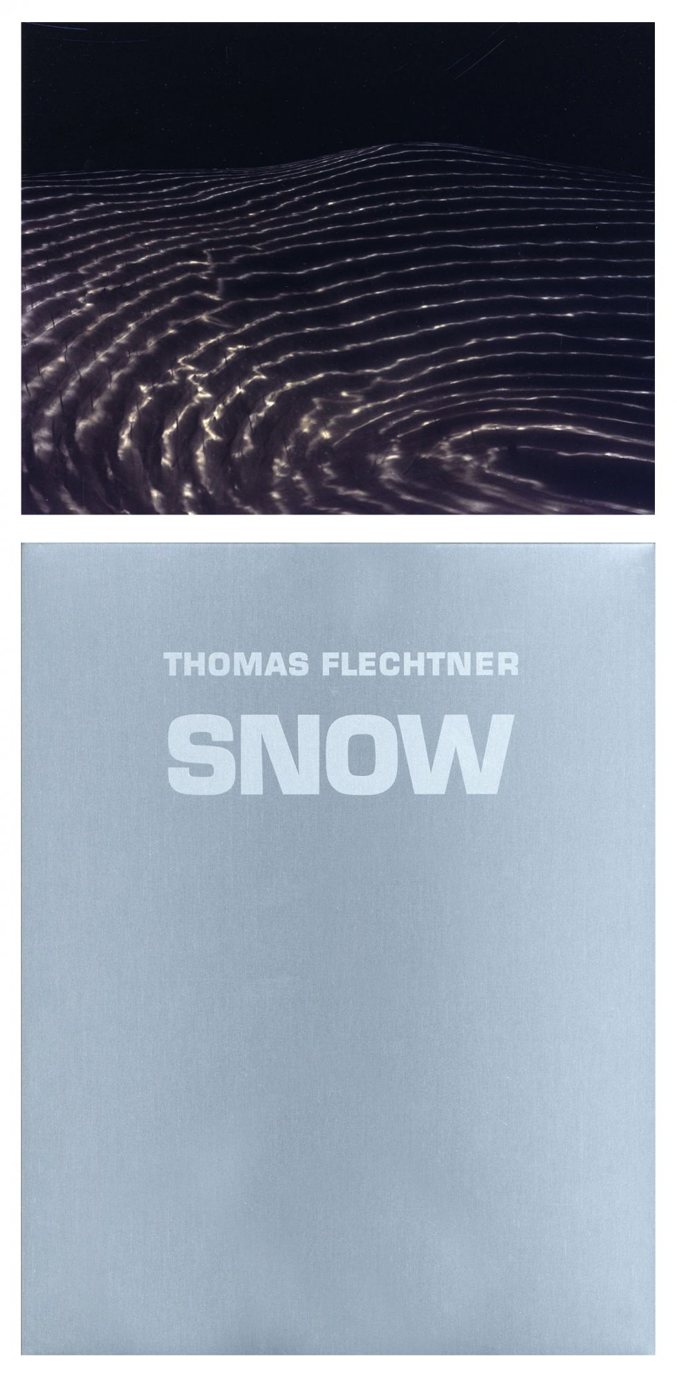 Thomas Flechtner: Snow, Limited Edition (with Print)