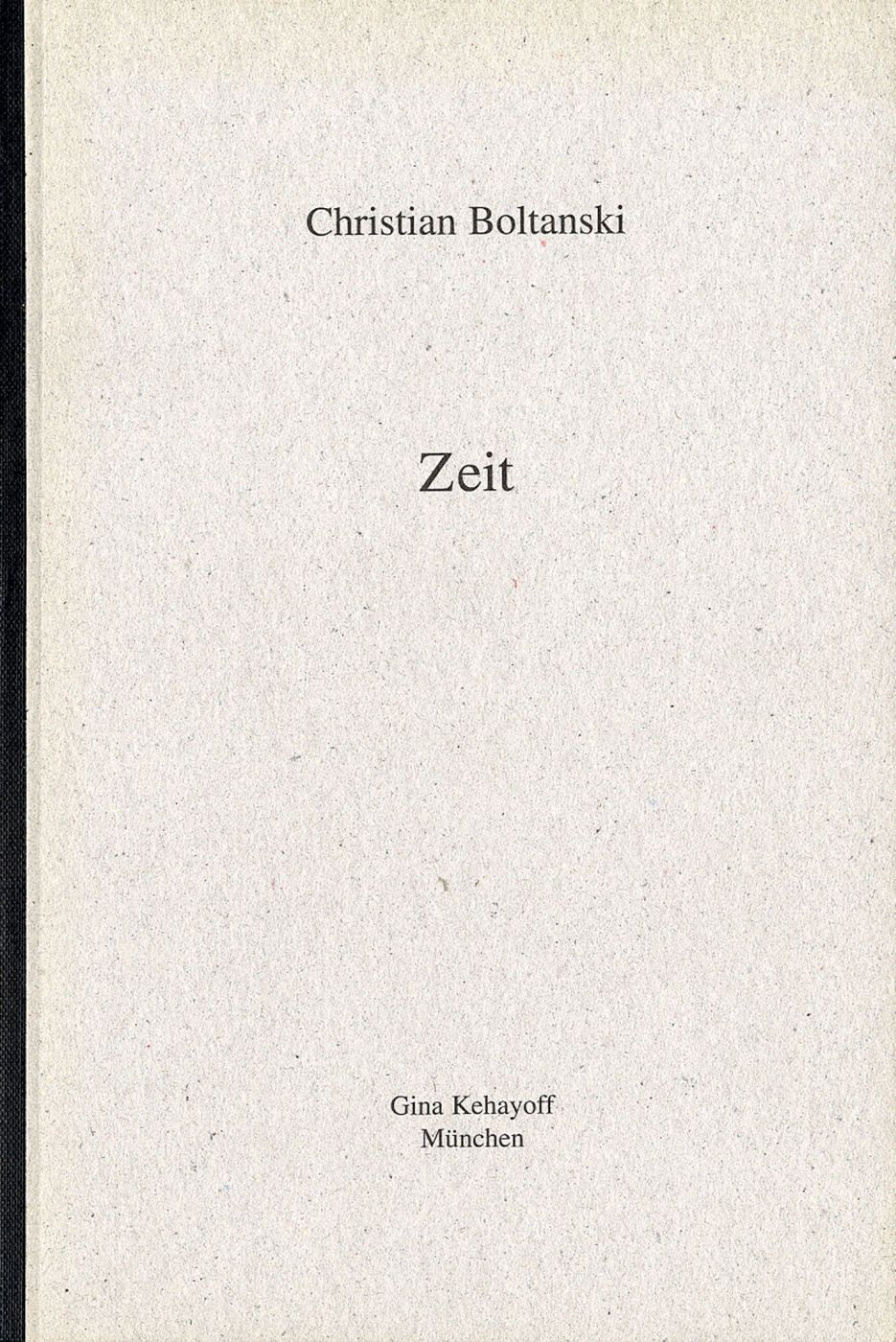 Christian Boltanski: Zeit (Time)