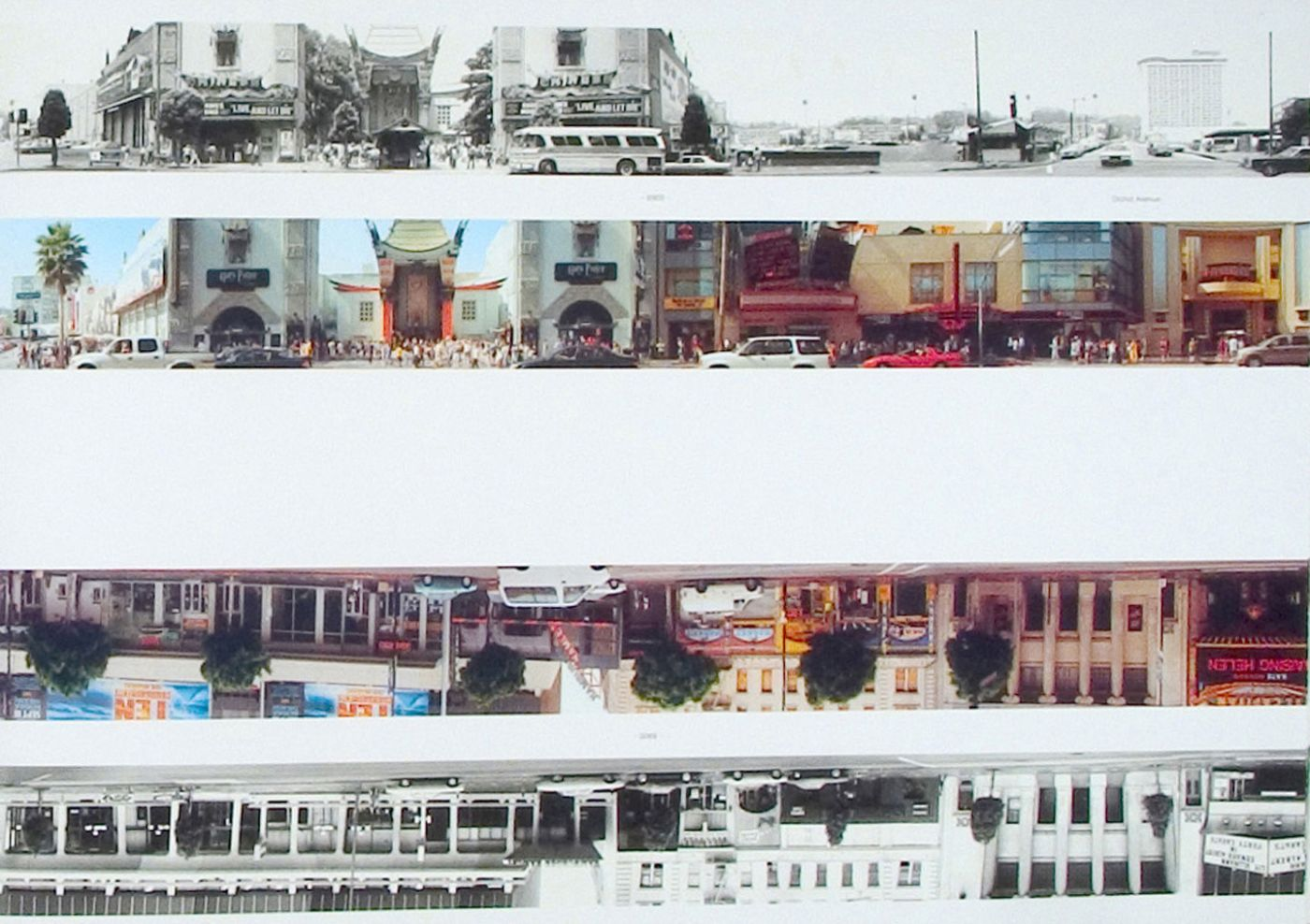 Ed Ruscha: Then & Now, Hollywood Boulevard 1973-2004 (New)