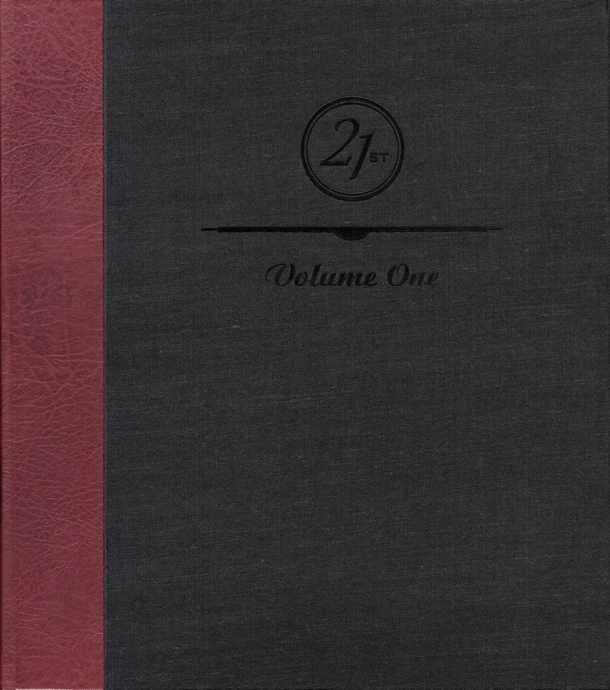 21st Editions Journal of Contemporary Photography Volume 1 (One/I), Deluxe Limited Edition