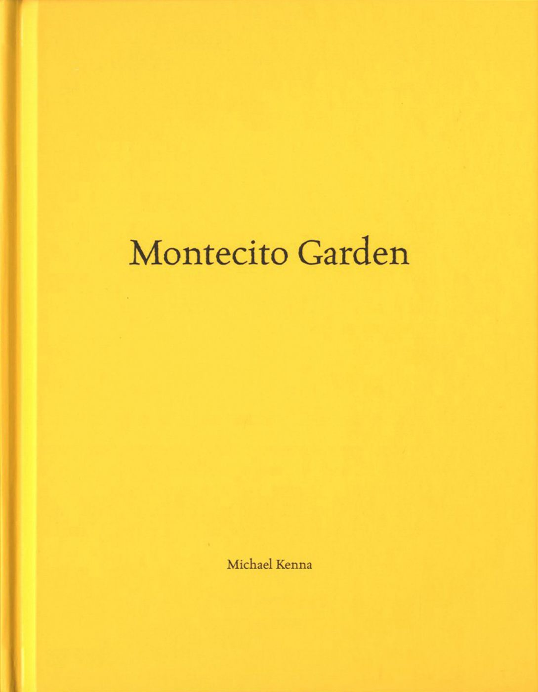 Michael Kenna: Montecito Garden (One Picture Book #41), Limited Edition (with Print)