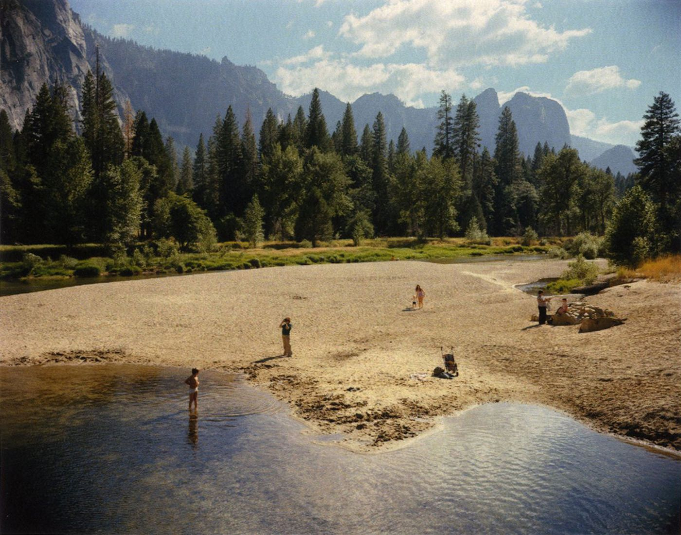 Stephen Shore: Merced River: Yosemite National Park, California 8/13/79 (One Picture Book #43), Limited Edition (with Print)