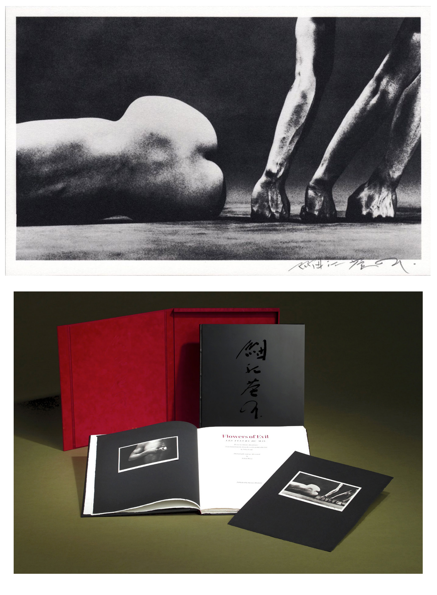 Eikoh Hosoe: Flowers of Evil, Limited Edition (with Platinum Prints)