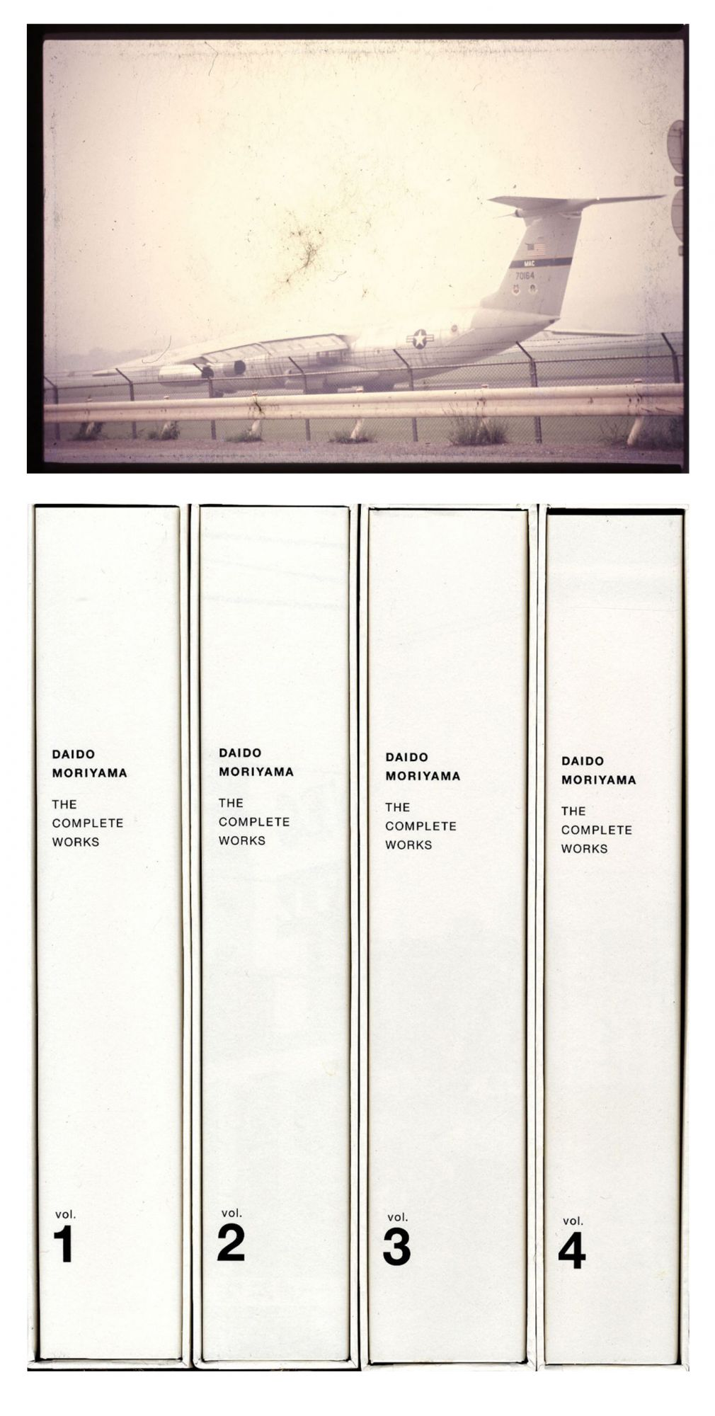 """Daido Moriyama: The Complete Works, Volumes 1-4 (1964-2003), Limited Edition (with Type-C Print, """"Airplane"""" Variant) [SIGNED]"""