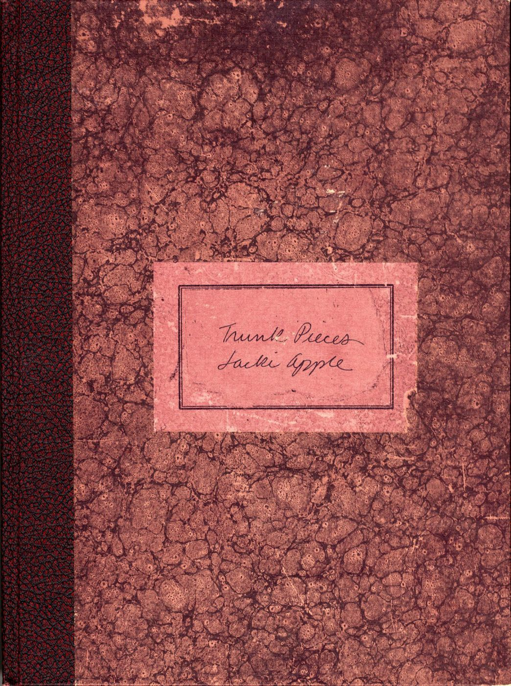 Jacki Apple: Trunk Pieces, Limited Edition [SIGNED]