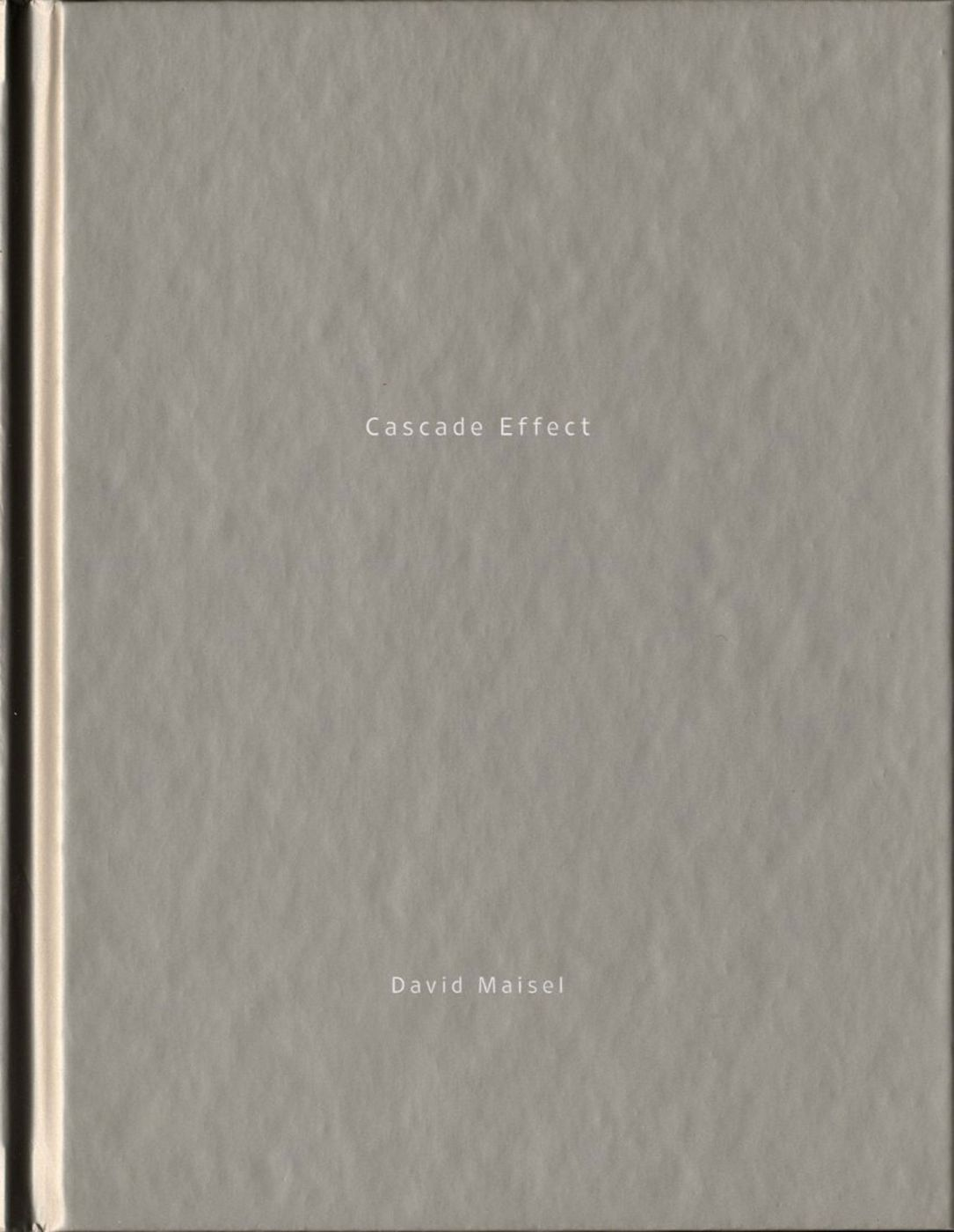 David Maisel: Cascade Effect (One Picture Book #49), Limited Edition (with Print)