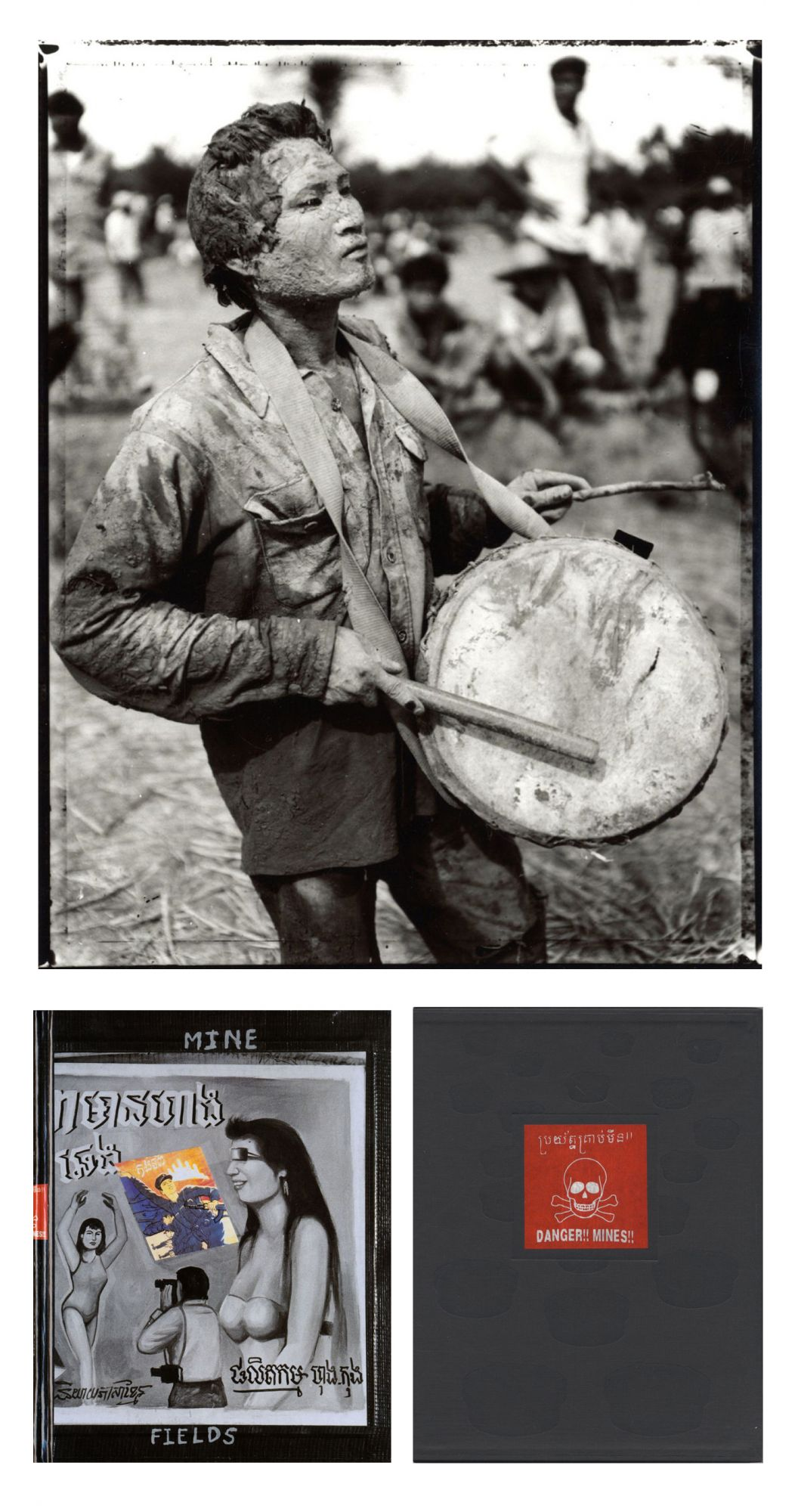 Bill Burke: Mine Fields, Limited Edition (with Toned Gelatin Silver Print)