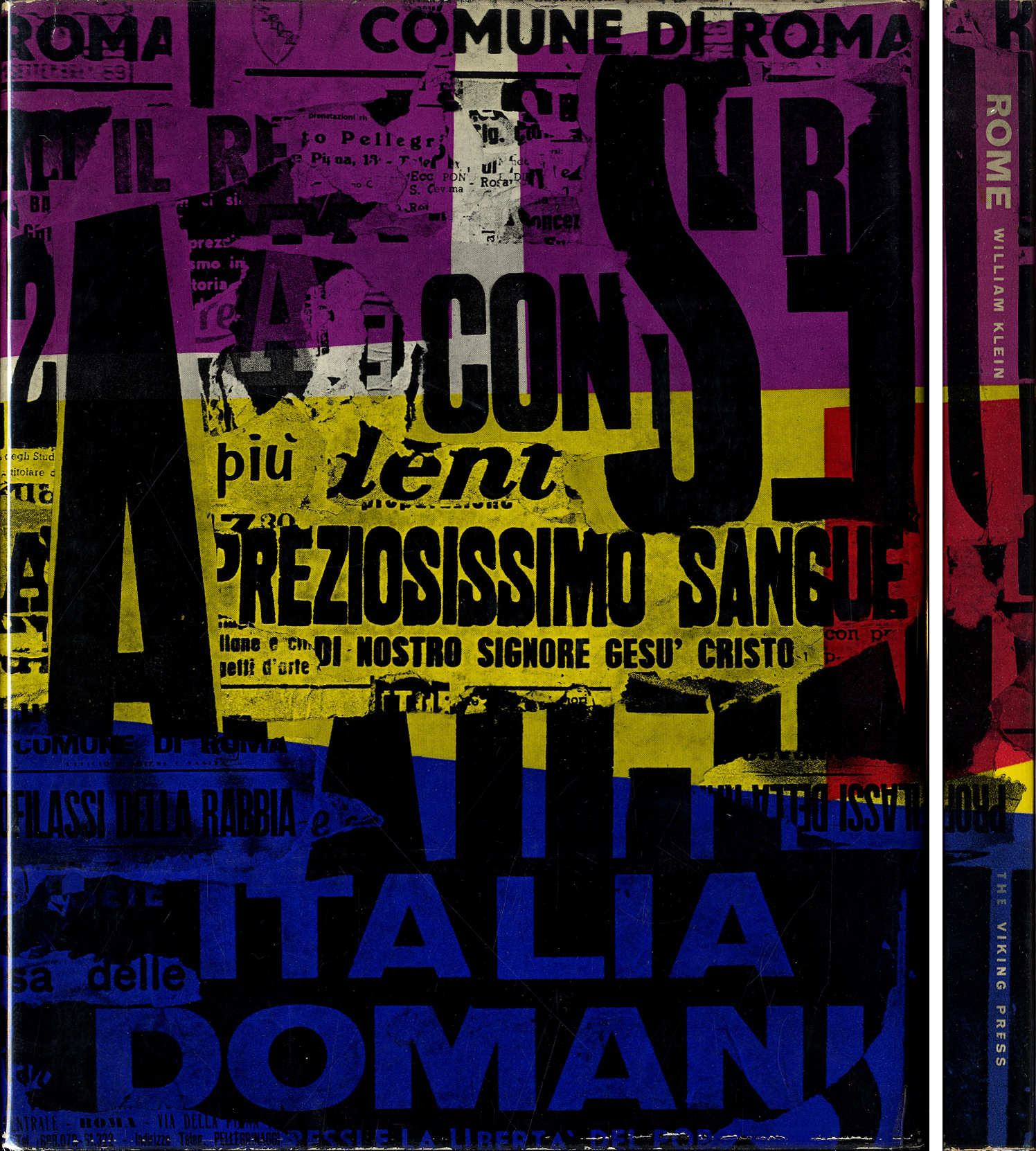 William Klein: Rome: The City and Its People (First English Edition) [SIGNED]