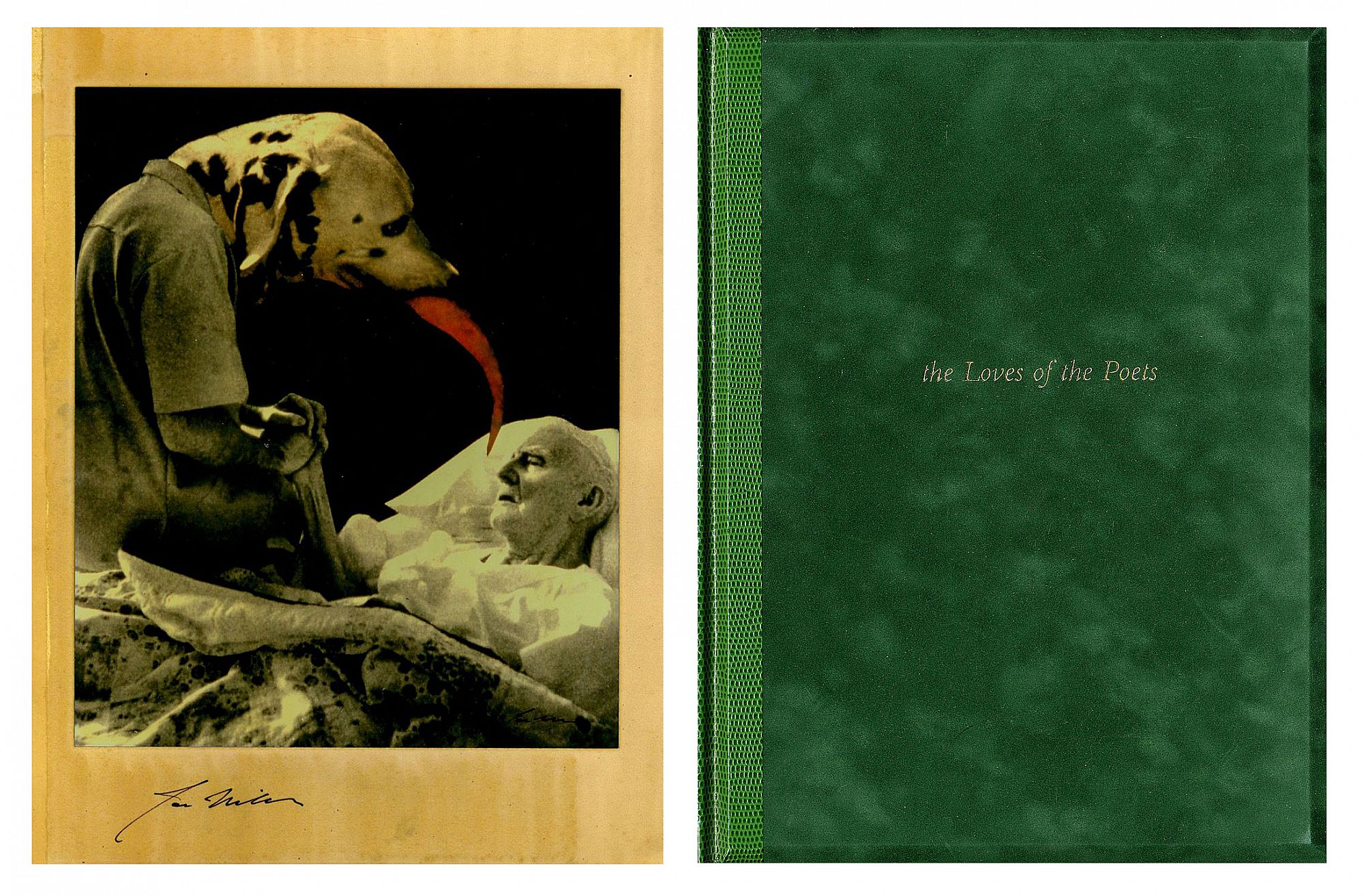 Joseph Mills: The Loves of the Poets, Limited Edition (with Print)