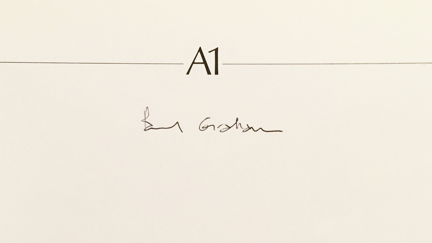 Paul Graham: A1: The Great North Road [SIGNED]