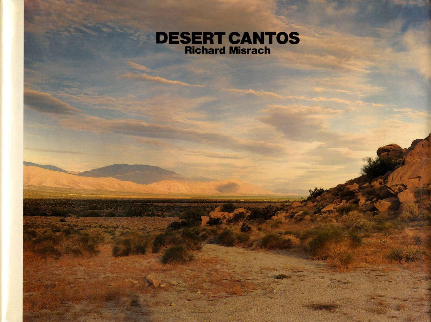 Richard Misrach: Desert Cantos (Japanese Edition) [SIGNED]