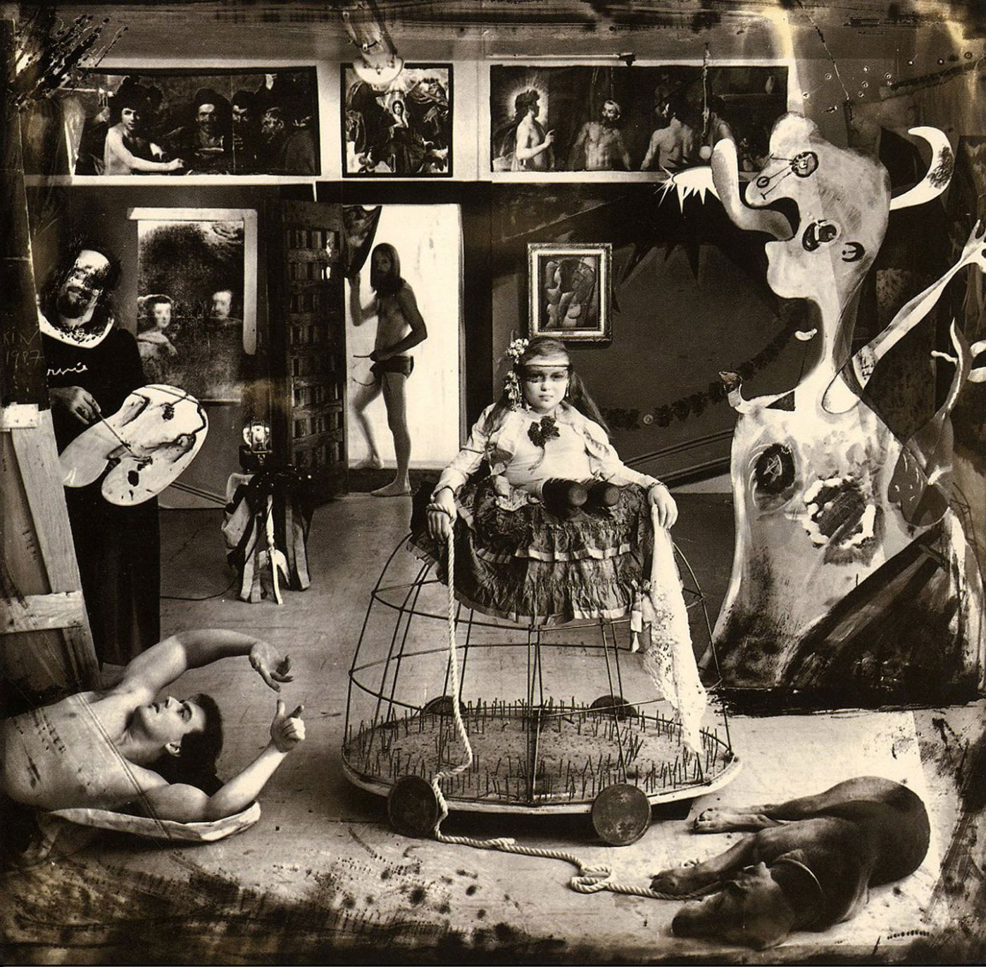 Joel-Peter Witkin (Centre National de la Photographie, Paris & Ministerio de Cultura Spain)