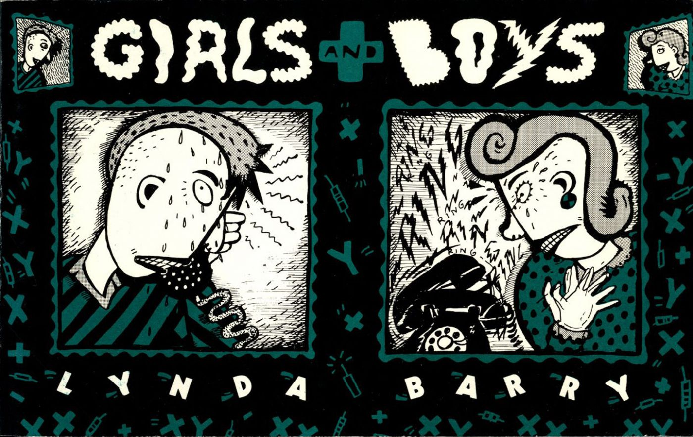 Lynda J. Barry: Girls and Boys [SIGNED]