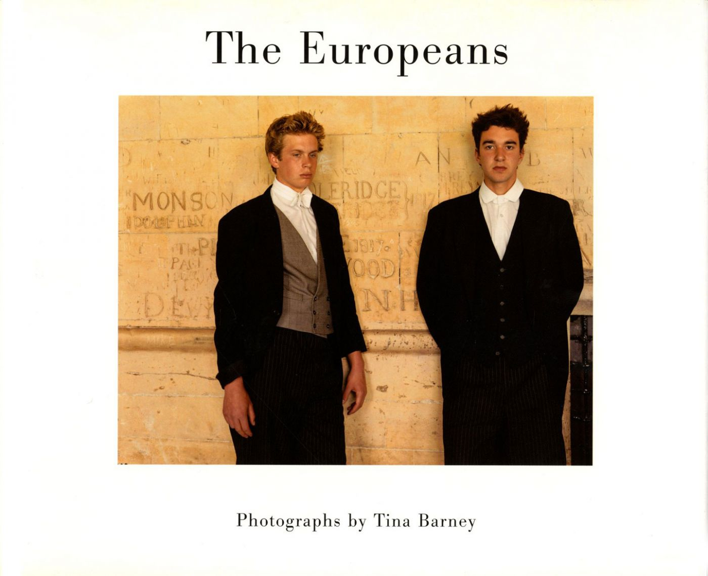The Europeans: Photographs by Tina Barney [SIGNED]
