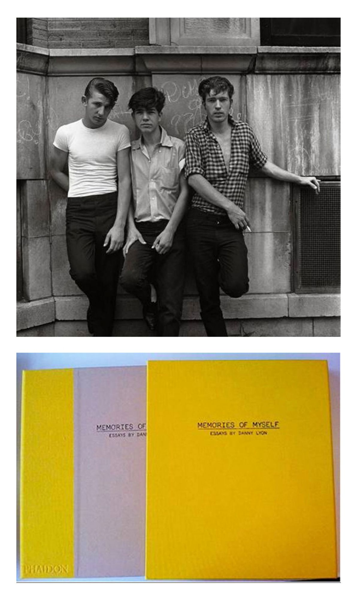 "Memories of Myself: Essays by Danny Lyon, Limited Edition (with Gelatin Silver Print, ""Three Young Men, 1965"")"