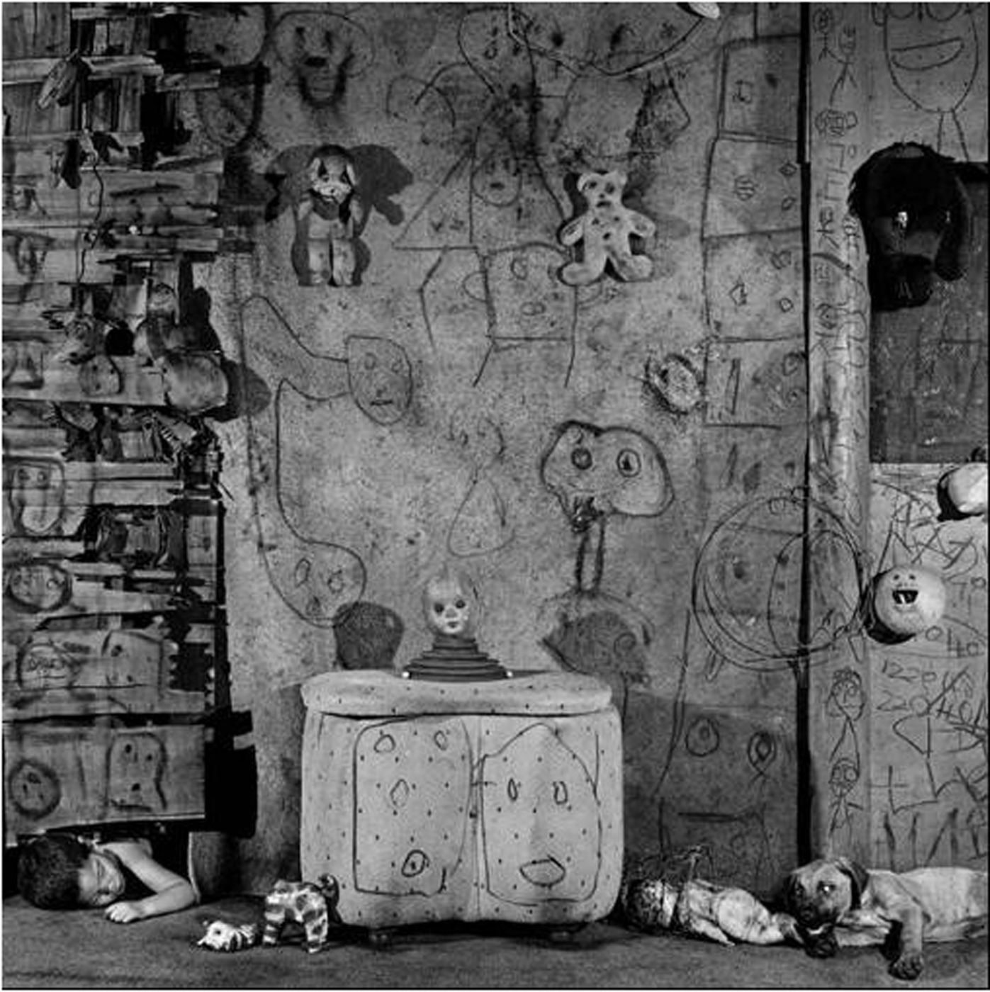 "Roger Ballen: Boarding House, Limited Edition (with Gelatin Silver Print, ""Boarding House, 2008"" Variant)"