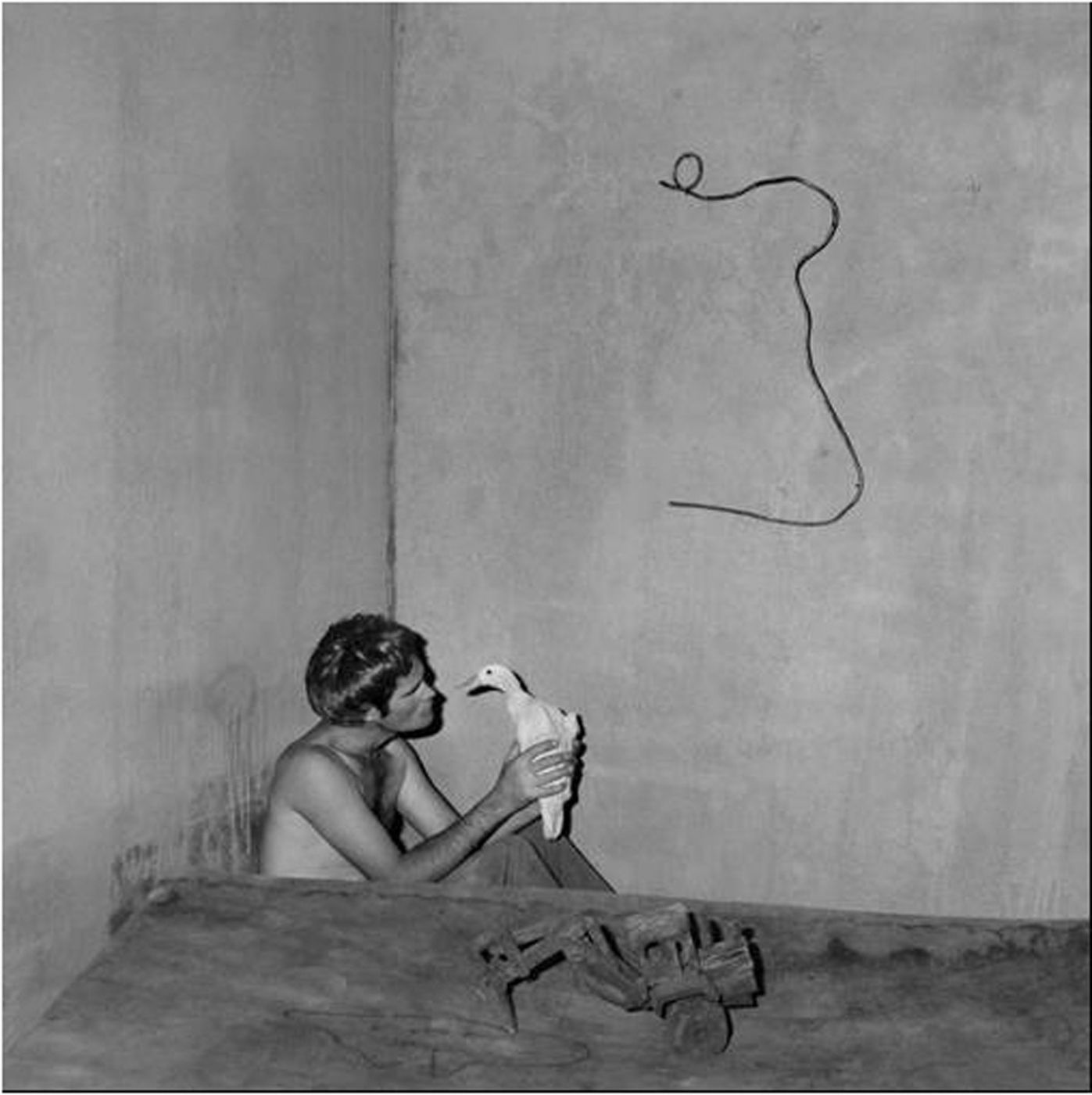 "Roger Ballen: Boarding House, Limited Edition (with Gelatin Silver Print, ""Contemplation, 2008"" Variant)"