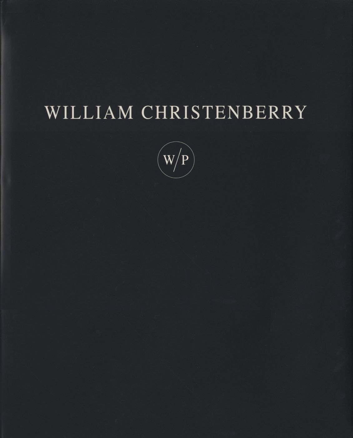 William Christenberry: Works on Paper (W/P) [SIGNED] [IMPERFECT]