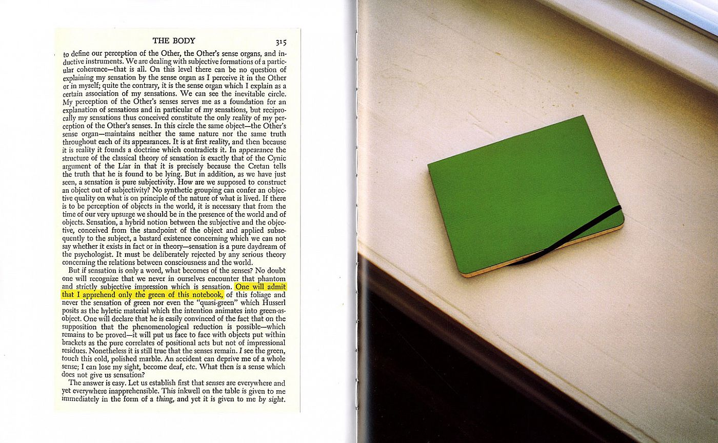 John Divola: The Green of this Notebook, Limited Edition [SIGNED]