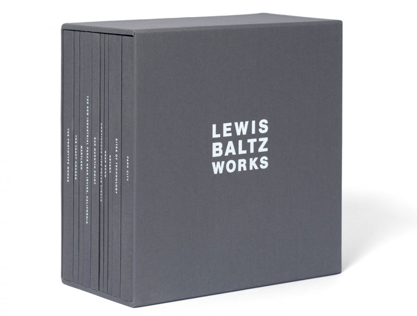 Lewis Baltz: Works, Limited Edition (Ten Volume Set) [SIGNED]