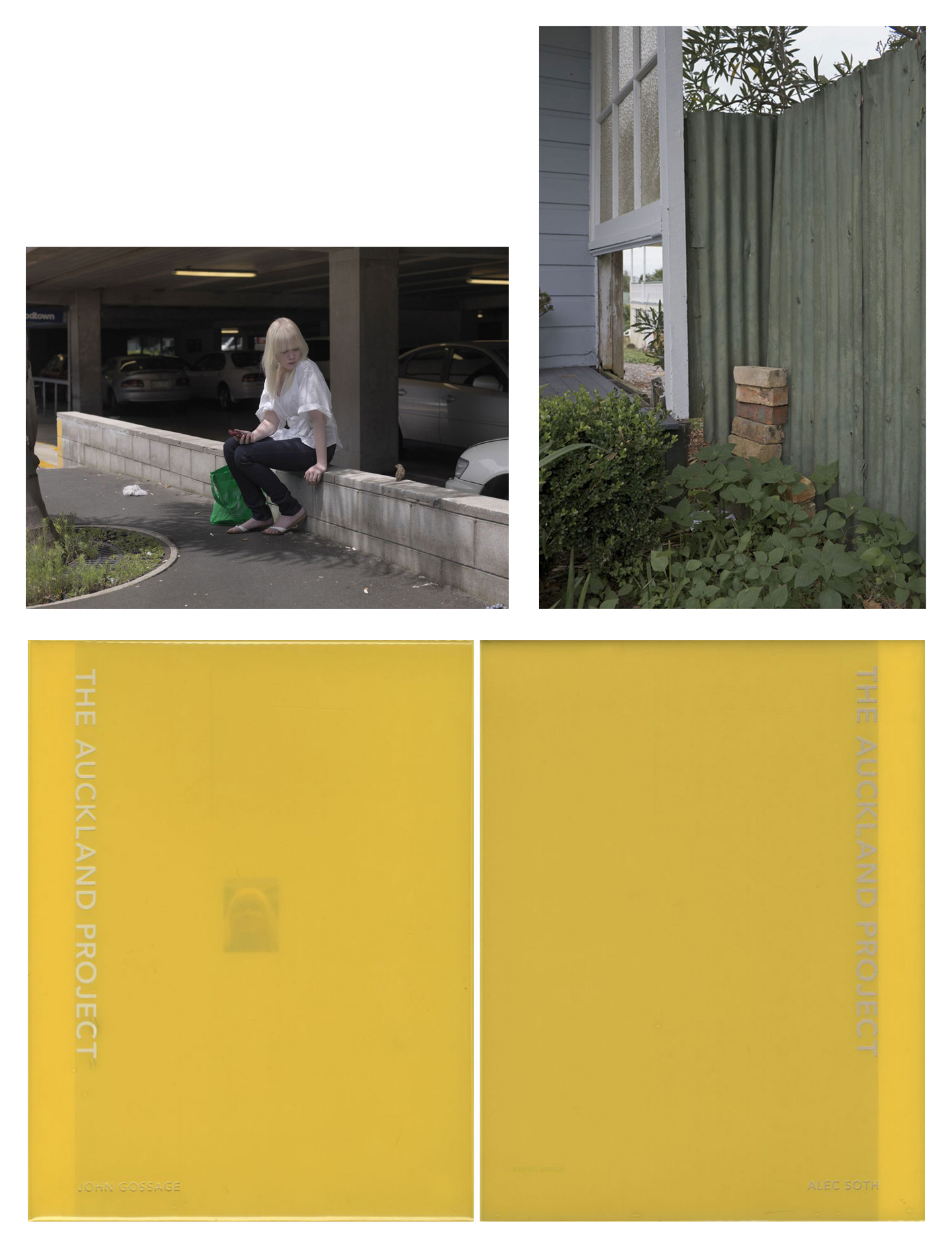 John Gossage & Alec Soth: The Auckland Project, Limited Edition (with 2 Prints)