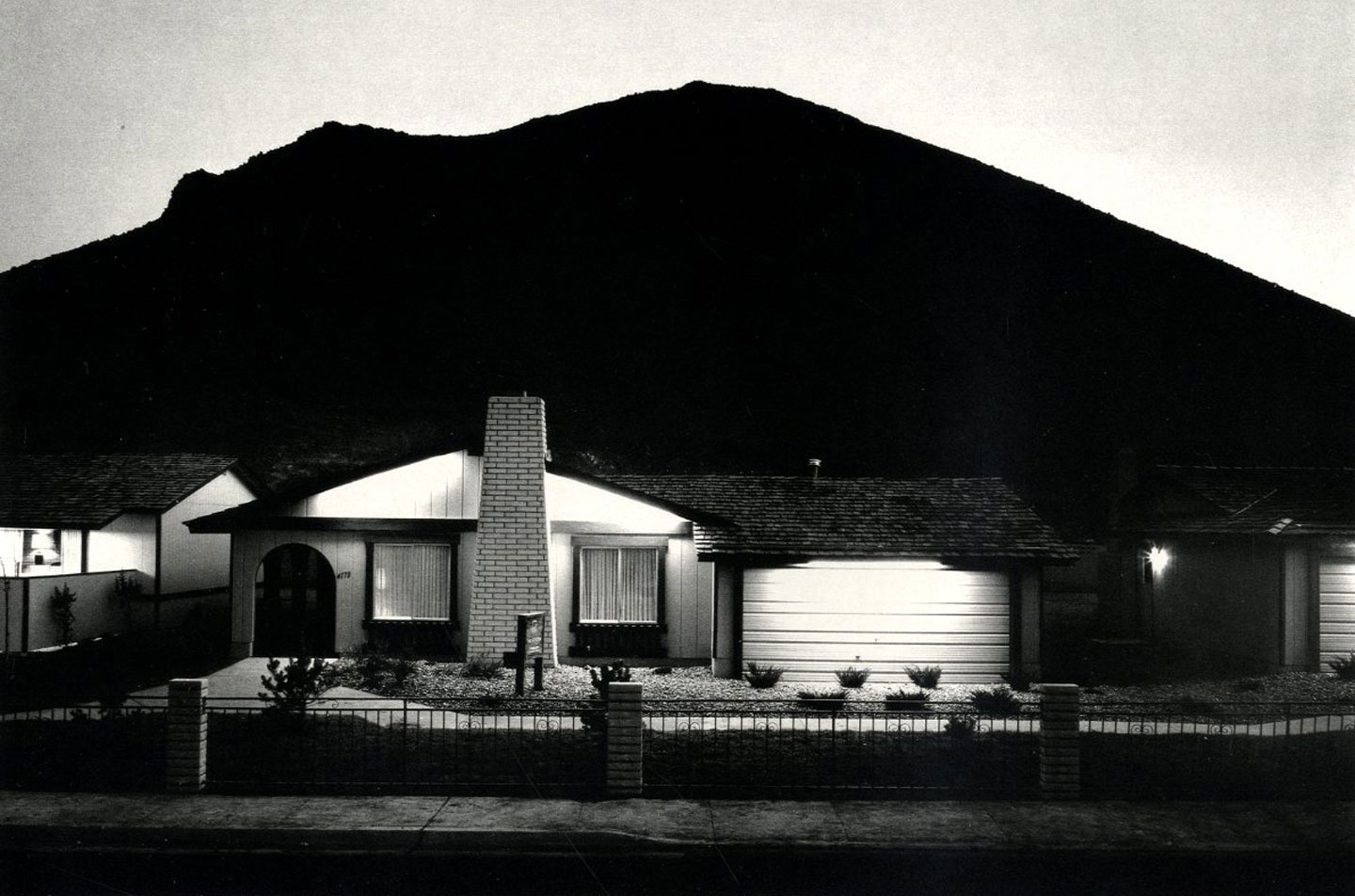 Lewis Baltz: Park City (First Edition) [SIGNED] (New condition in publisher's shrink-wrap, slit open for signature) -- INCLUDES a copy of Lewis Baltz: Nevada (First Edition) [SIGNED]