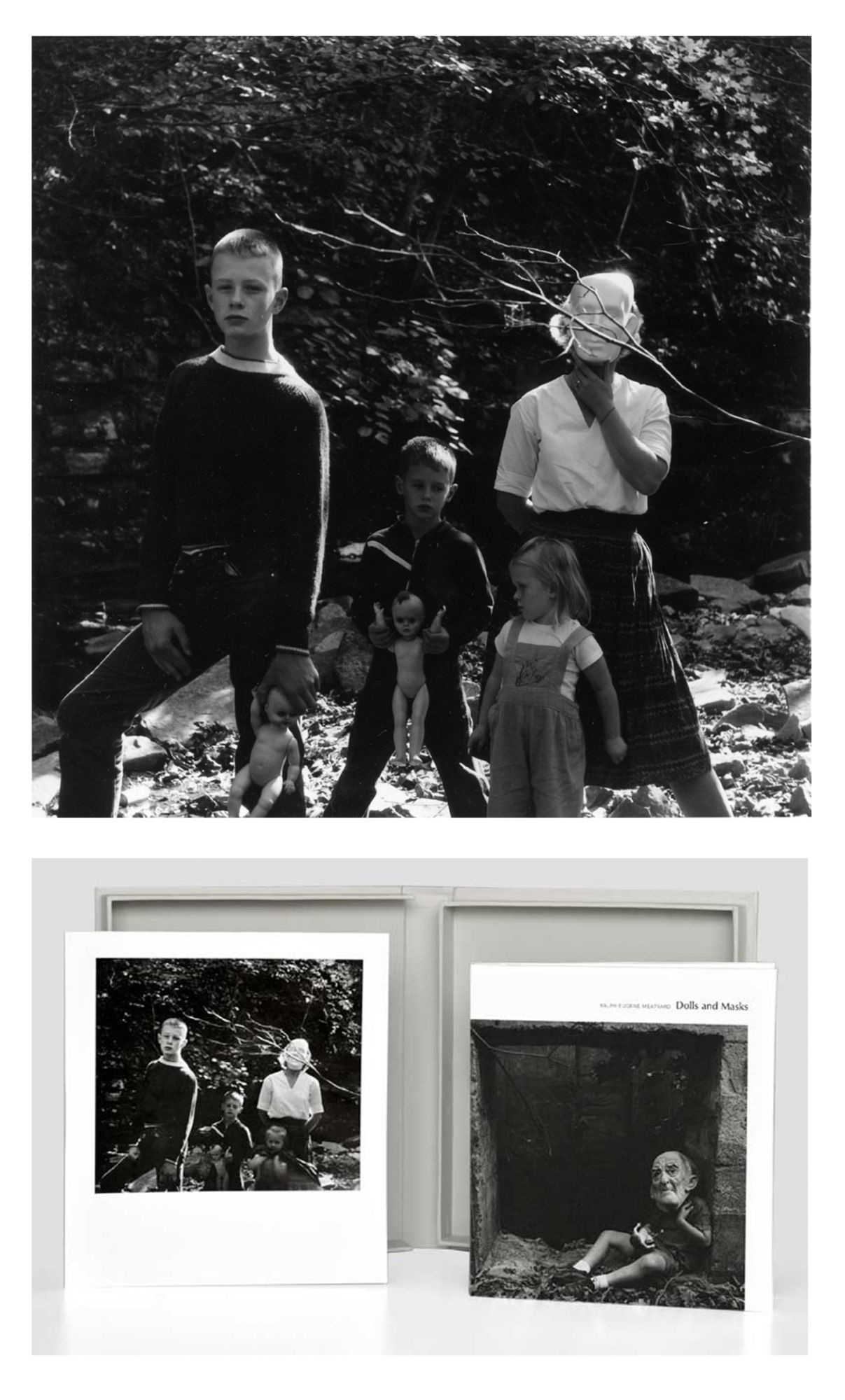 Ralph Eugene Meatyard: Dolls and Masks, Limited Edition (with Gelatin Silver Print)