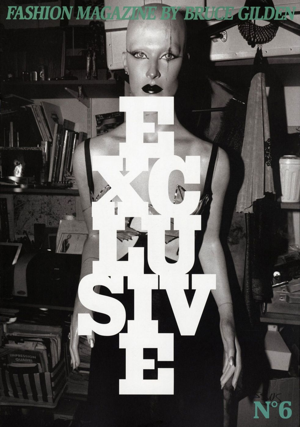 Bruce Gilden: Fashion Magazine (The Seven Deadly Sins of Fashion)