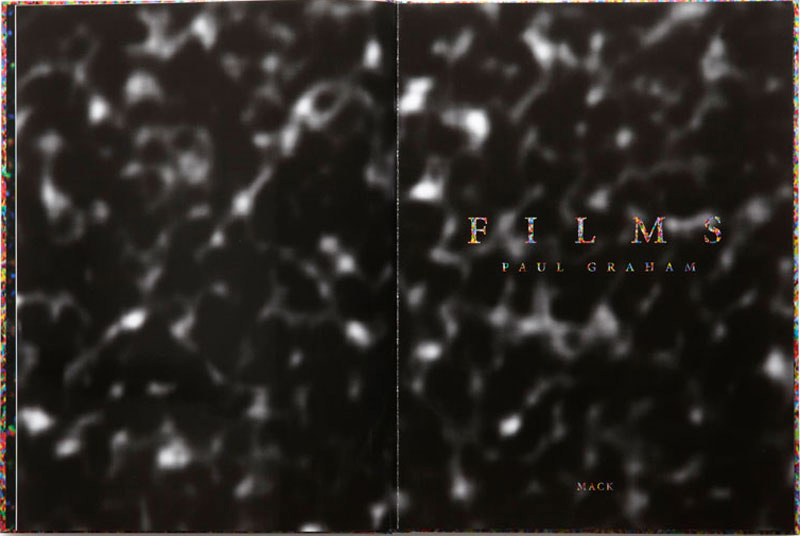 Paul Graham: Films (First Printing) [SIGNED]