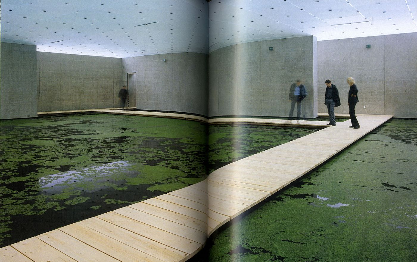 Olafur Eliasson: The Mediated Motion (in cooperation with Günther Vogt, landscape architect)