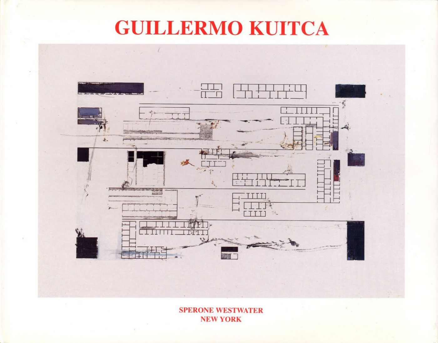 Guillermo Kuitca: Castle to Castle (from the Neufert Suite)