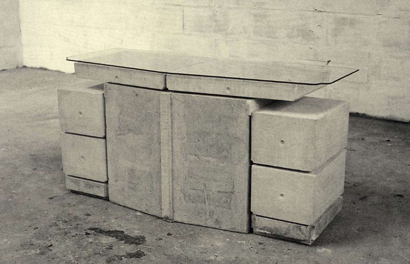 Rachel Whiteread: Plaster Sculptures
