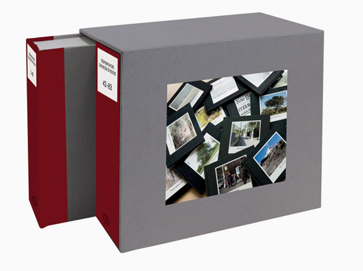 Stephen Shore: The Book of Books, Limited Edition (Two Volume Set) [SIGNED]