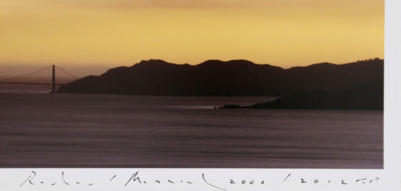 Richard Misrach: 10.21.00 6:49 PM (SMOKE), Limited Edition Archival Pigment Print from Golden Gate