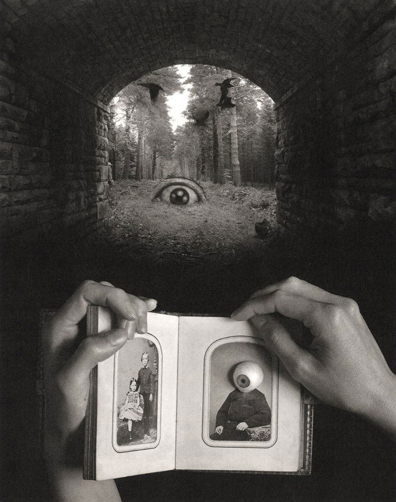 Jerry Uelsmann: Referencing Art (Set of Two Copies, Cover Plate Inverted on One Copy)