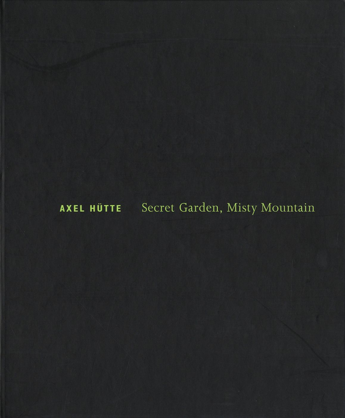 Axel Hütte: Secret Garden, Misty Mountain
