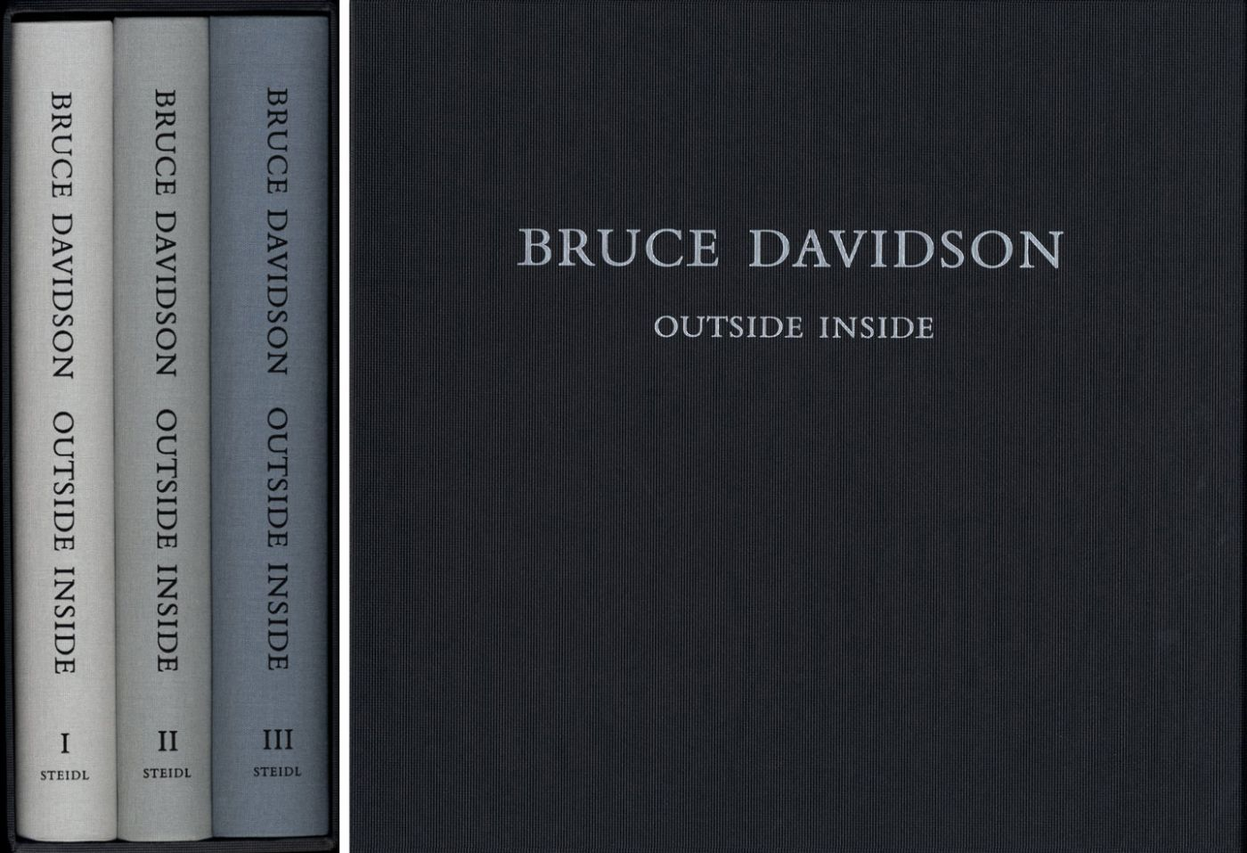 Bruce Davidson: Outside Inside (Three Volumes) [SIGNED]