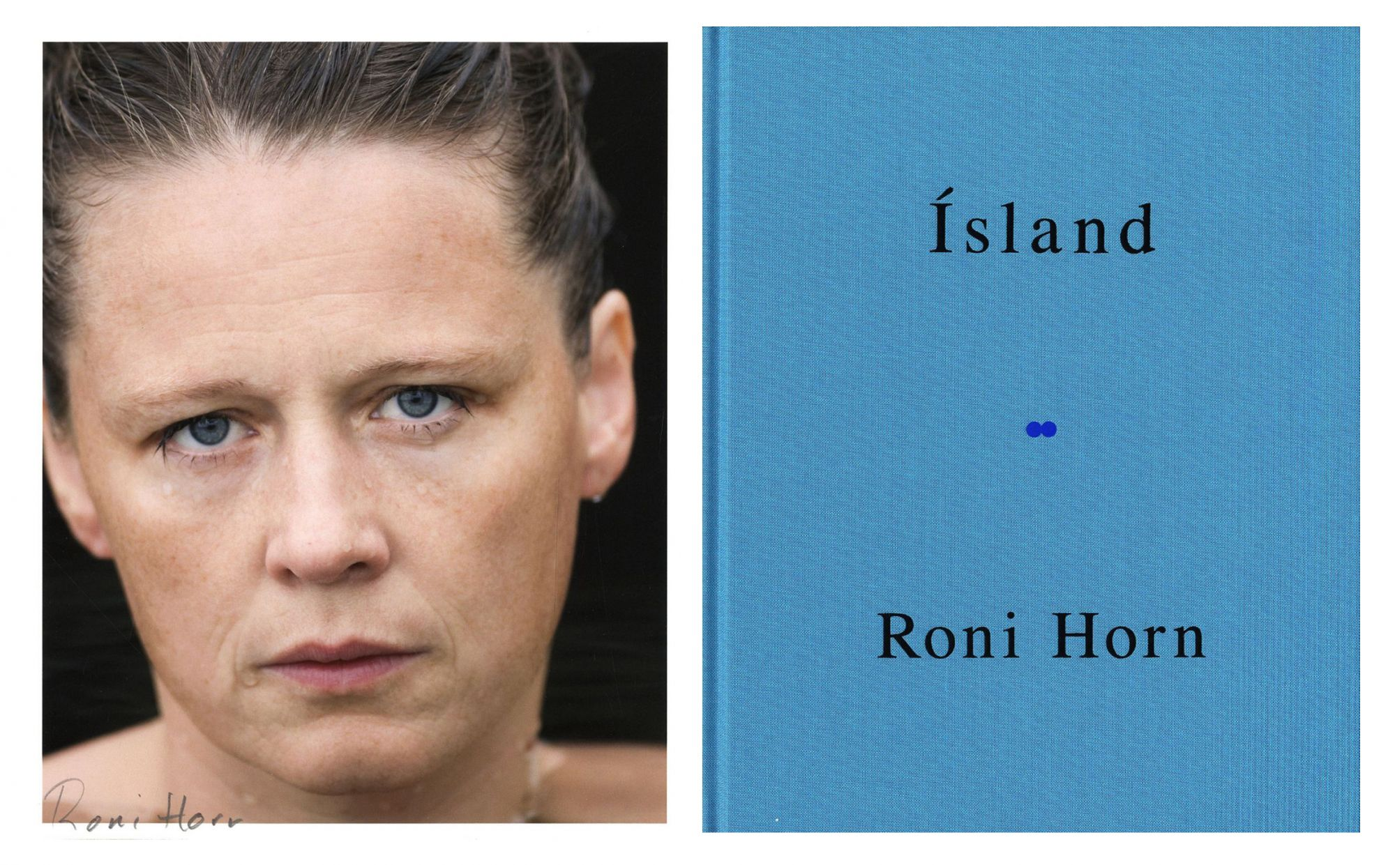 Roni Horn: Haraldsdóttir, Part Two (Ísland: To Place 10), Limited Edition (with Archival Pigment Print)