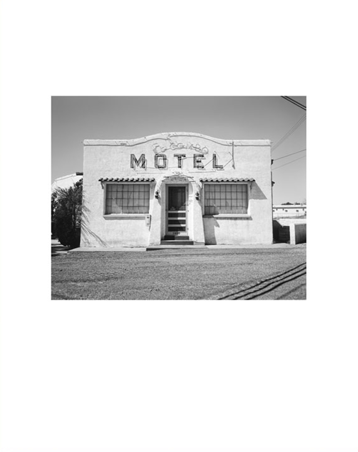 "NZ Library #1: John Schott: Route 66, Special Limited Edition (with Gelatin Silver Contact Print ""New Topographics #122 Untitled, 1973,"" Motel Office with Neon Cactus Sign) (NZ Library - Set One, Volume Six)"