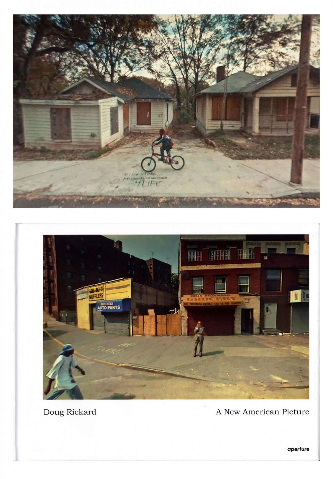 Doug Rickard: A New American Picture (Aperture), Limited Edition (with Archival Pigment Print)
