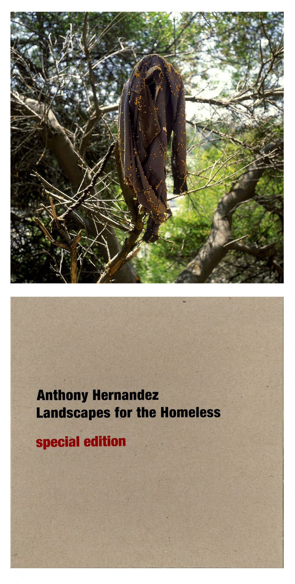 Anthony Hernandez: Landscapes for the Homeless, Limited Edition (with Print)