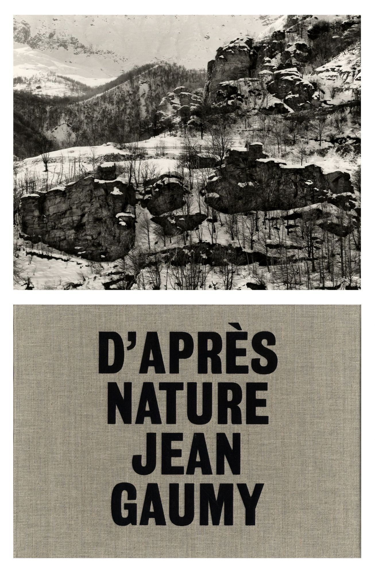 Jean Gaumy: D'Après Nature, Limited Edition (with Print)
