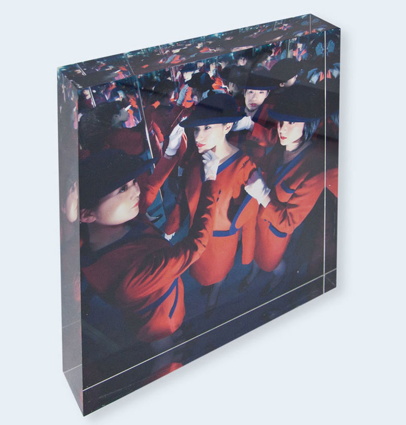 Miwa Yanagi: White Casket, Limited Edition (with Type-C Print Face-mounted on Thick Plexiglass)