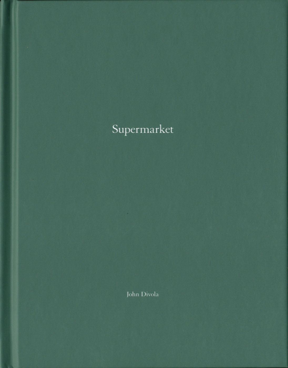John Divola: Supermarket (One Picture Book #81), Limited Edition (with Print)