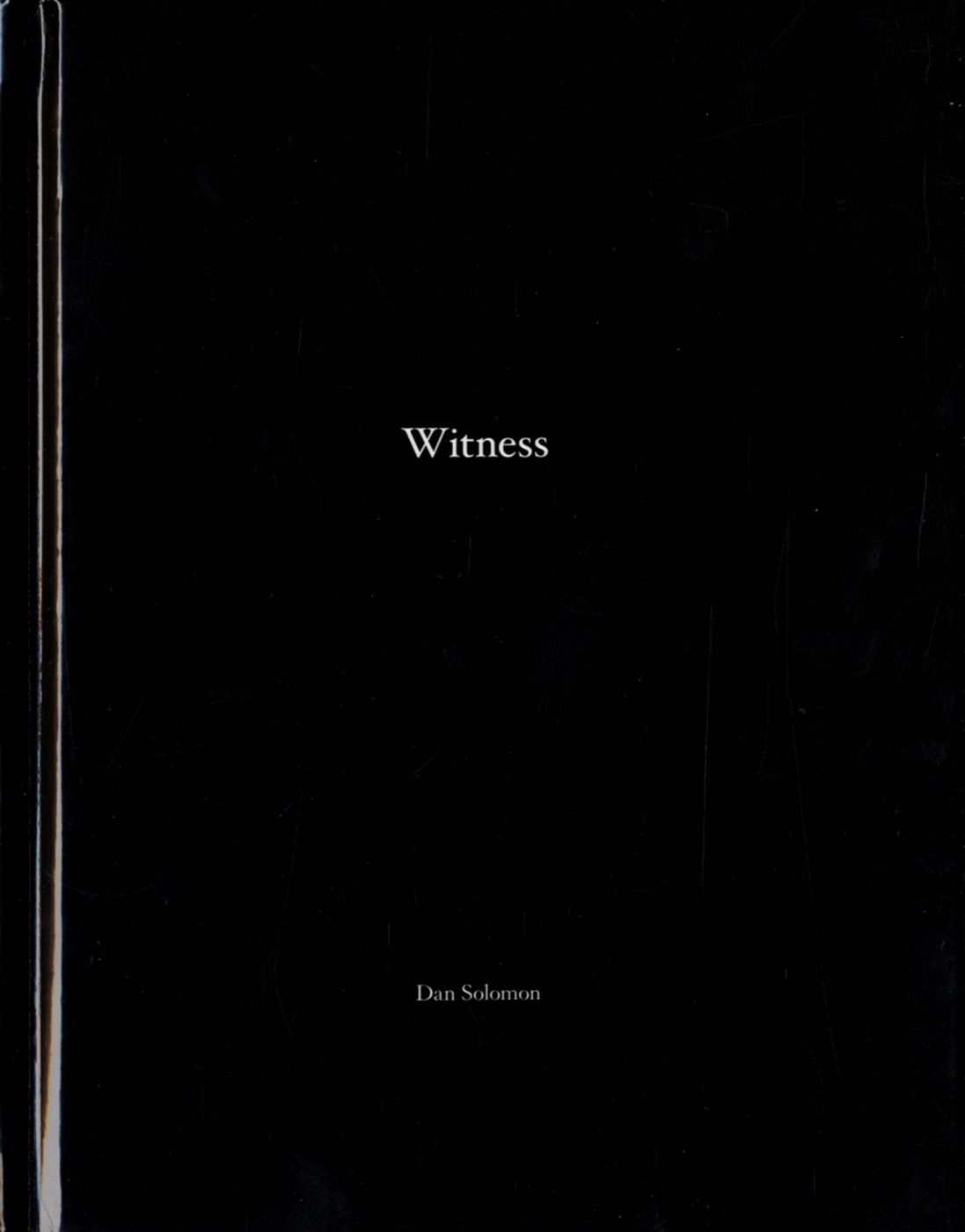 Dan Solomon: Witness (One Picture Book #83), Limited Edition (with Print)