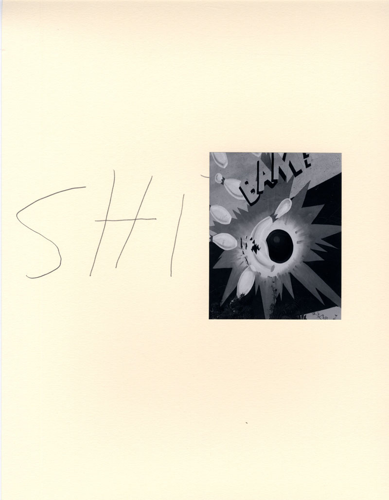John Gossage: HF (Hey Fuckface), Limited Edition (with 18 Gelatin Silver Prints)