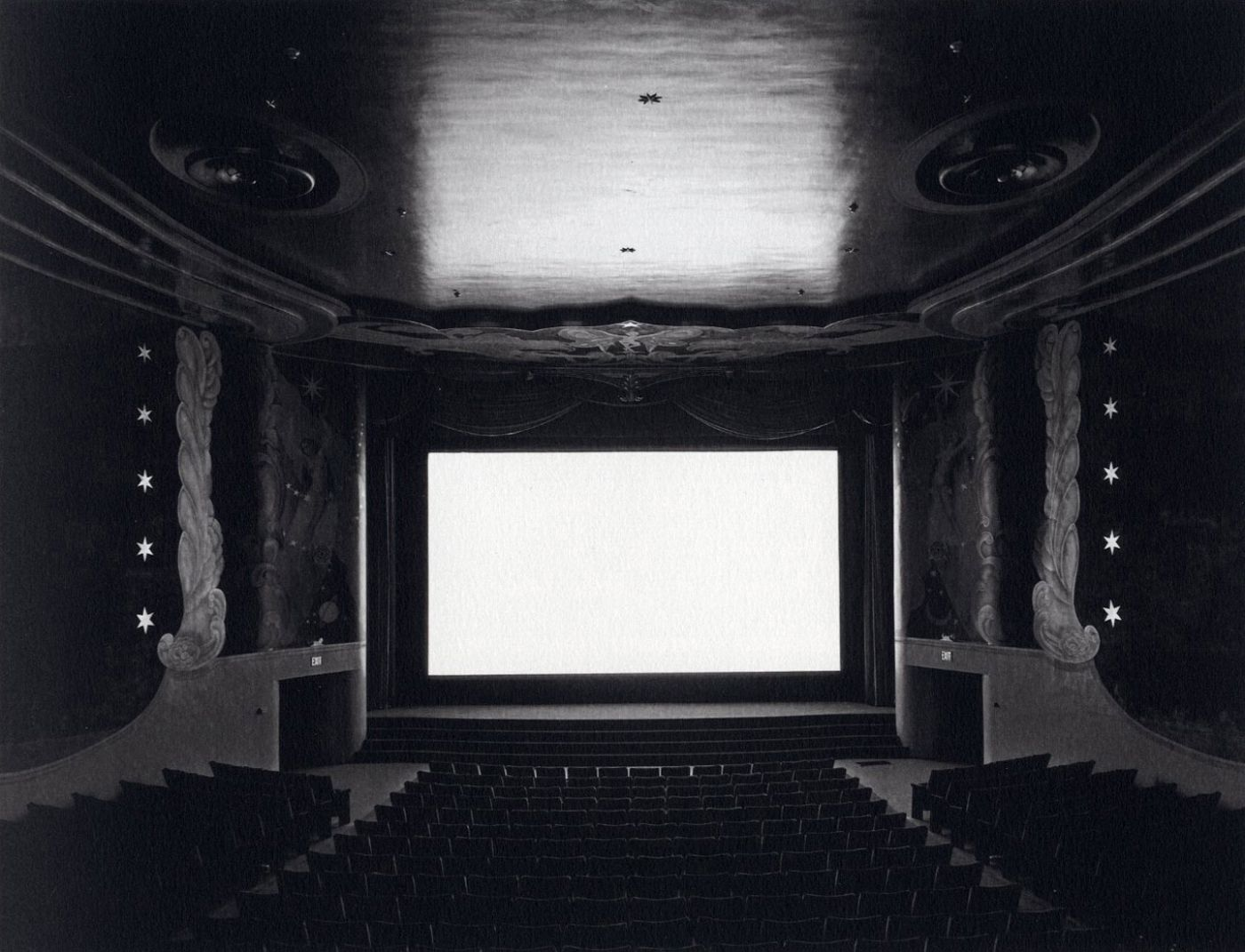 Hiroshi Sugimoto: Theaters [SIGNED in kanji with a calligraphy brush]